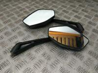 Brand New Mirror Left Right Pair Mirrors for Lexmoto Hawk 125 XGJ125-28