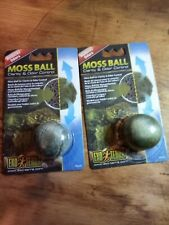 New listing Exo Terra Moss Ball Clarity and Odor Control (2Pack). New & Sealed.