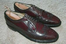 Hanover Lb Sheppard Signature 10.5 Aaa Wingtip Shoes Mens Size Vintage 2313