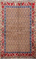 Geometric Traditional Sarab Hand-knotted Area Rug Home Decor Oriental Carpet 3x5