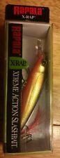 Rapala XR-8 XR8 Bass Fishing Lure Hot Steel X-rap