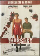 Thursday Ein Morderischer Tag (Official DVD) Free UK Post