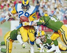 """~~ ERIC DICKERSON Authentic Hand-Signed """"L.A. Rams"""" 8x10 Photo ~~"""