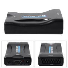 1080P HDMI vers Scart Péritel Convertisseur Vidéo Audio Adaptateur AH149
