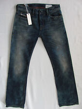 Men's Diesel New Fanker Slim Bootcut Jeans Wash 75L Distressing-Size 27 New $298