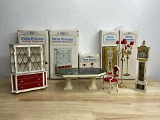 Vintage 1960s Lot of 5 Ideal Dollhouse Fantasy Furniture Petite Princess Table