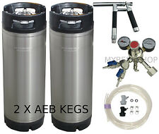 AEB PLUTO KEGGING KIT - PREMIUM REGULATOR HOME BREW BEER KEG SYSTEM KEGERATOR