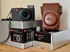 Leica D-LUX 3 10.0MP Digital Camera W/ Box, Accessories, Brown Leather Case