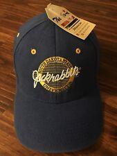 7346887e9998b South Dakota State University Jacks Blue Adjustable Baseball Cap Hat (S1)