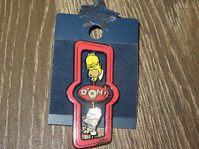 NEW Universal Studios Pin Trading - Simpsons - Homer D'OH! Totem Pole Spinner