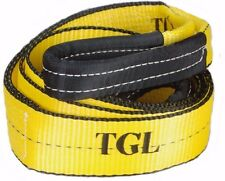 "TGL 3"" X 8FT 30,000 LB Heavy Duty Tree Saver Winch Strap Recovery Tow Snatch TS5"