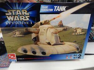 AMT /ERTL STAR WARS episode 1 Trade Federation Tank 1/32 scale