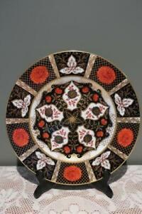 Vintage Abbeydale Large Dinner Plate - Imari Chrysanthemum - Collectable - Vgc