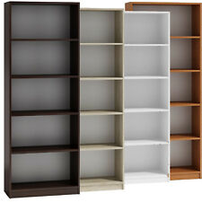 Bücherregal Regal Holzregal Standregal Wandregal Büroregal 180x60x24cm