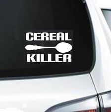 B102 CEREAL KILLER ZOMBIE VINYL CAR SUV JDM WALL LAPTOP DECAL STICKER