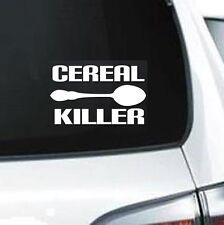 B102 CEREAL KILLER ZOMBIE VINYL CAR SUV JDM WALL LAPTOP DECAL STICKER