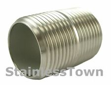 """Stainless Steel Pipe Nipple 1"""" x  Close (1-1/2"""") Type 304 18-8 StainlessTown"""