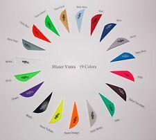 Blazer Vanes (New) w/Logo 19 Colors Mix/Match Pkg 50