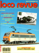 LOCO REVUE 540 DE 1991.  TEST LA SYBIC DE MÄRKLIN