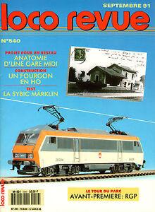 Loco Review 540 Of 1991. Test La Sybic of Märklin