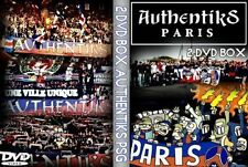 2 DVD AUTHENTIKS PSG 2003-2005(ultras,tifo,chants,group,ultra,paris,tm93,supras)