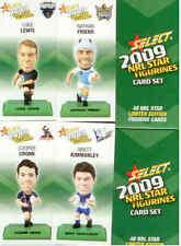 2009 Select NRL Color Figurine CARDS Full Set (48)