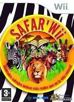 Safar'Wii Nintendo WII Video Game Original UK Release