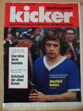 KICKER 8 - 27.1. 1975 Erwin Kremers Bayern-Offenbach 2:3 Preußen Münster -Poster