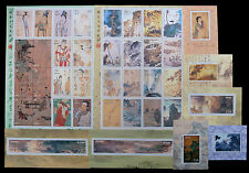 CHINA - LIBERIA Centenary of Chang Ta-Chien Set 9 sheets in mint condition U/M