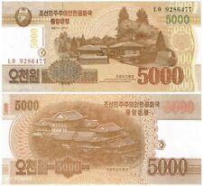 RARE!! 5000 WON Korea - no stamp or overprint!!