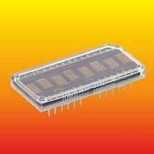 HDSP-2113 HP ALPHANUMERIC 5x7 DOT MATRIX LED DISPLAY 8 CHARSTER 28 PINS