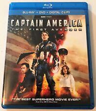 Captain America: The First Avenger (2011 Blu-Ray + DVD) BD Marvel Red Skull