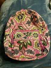 VERA BRADLEY Priscilla Pink retired 3/12 - 2/13 Full Size Campus Backpack