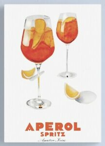 Aperol ad Print, Aperol Poster, Quality Print A5 to A1, Aperol