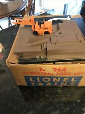 Lionel 264 Forklift  Accessory In Box Works