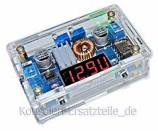 Spannungsregler mit Gehäuse KSQ 36V/5A LED Anzeige für Spannung, Strom, Leistung