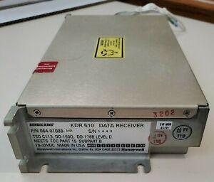 Bendix/King KDR 510 Data Receiver 064-01088-0101 NO RESERVE