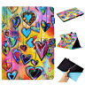 Smart Wake/Sleep Fashion Case Cover Stand PU Leather Painted Skin For Amazon