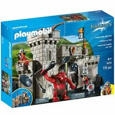 Playmobil 5670 Knights Castle And Troll Playset Toy