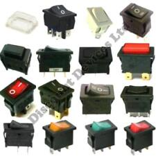 Push Momentary Latching On-Off On-Off-On Rocker Switches Waterproof Cover