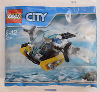 LEGO CITY 30346 PRISON ISLAND HELICOPTER PROMOTIONAL POLYBAG inc MINIFIGURE