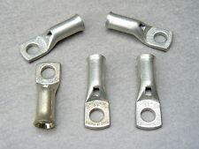 lot de 5 cosse tubulaire 16 mm² trou M6  cuivre etamé