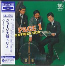 George Otsuka Trio - Page 1 (1967) JAPAN MINI LP CD [Blu-spec CD] Hideo Ichikawa