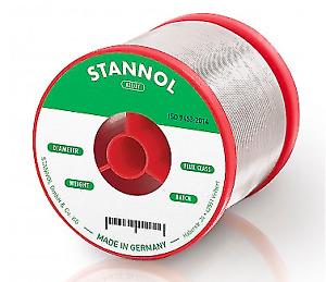 Solder wire Sn60/Pb40 1.5mm 500g with Stannol 810784 NEW