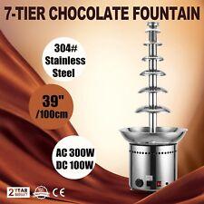 Fontana di cioccolato 7 livelli professionale fabbrica di cioccolata Top