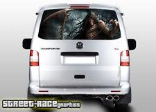VW Volkswagen Transporter T5 Portón Trasero envoltura de vinilo de gráficos de 218 Impreso Reaper
