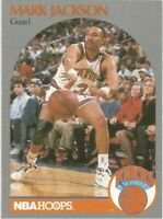 Mark Jackson Hoops 1990/91 - NBA Basketball Card #205 - Menendez Brothers