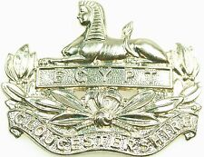 GLOUCESTERSHIRE REGIMENT CLASSIC GENUINE REGIMENTAL CAP BADGE