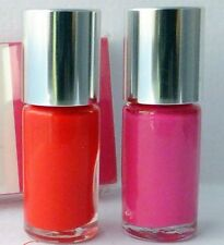 2X Clinique A Different Nail Enamel for Sensitive Skin in Hi, Sweetie and Happy