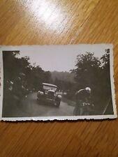 ancienne photo, Velo Cyclisme TOUR DE FRANCE à Longuyon années 30, vintage